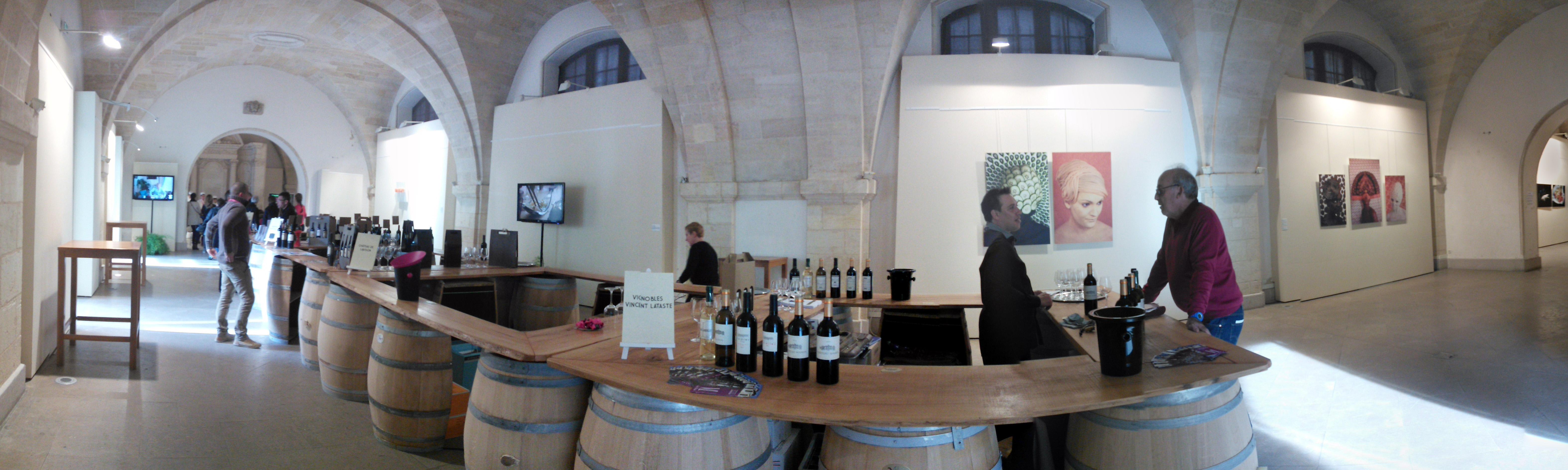 Exposition Cour Mably pour le festival de gastronomie et art de vivre Bordeaux SO Good