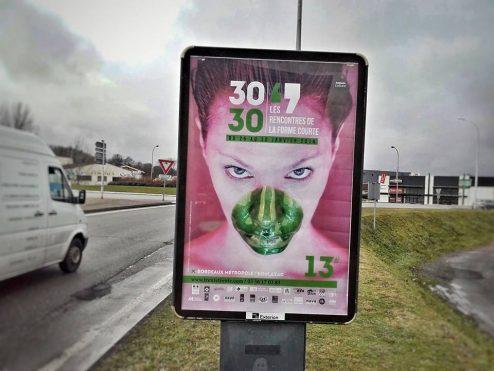 Panneaux JC Decaux à Bordeaux - © Benoit Deltreuil
